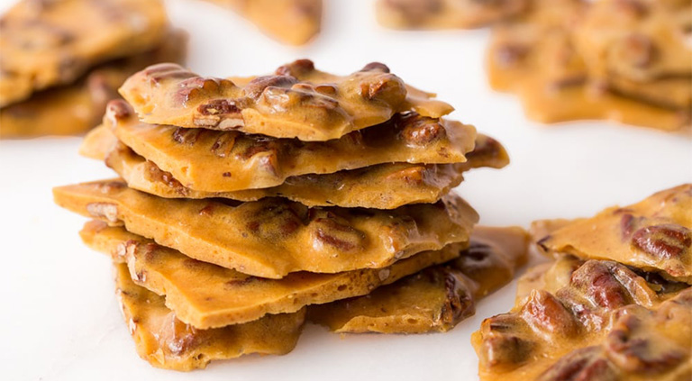 Microwave Pecan Brittle Southern Pecan Products