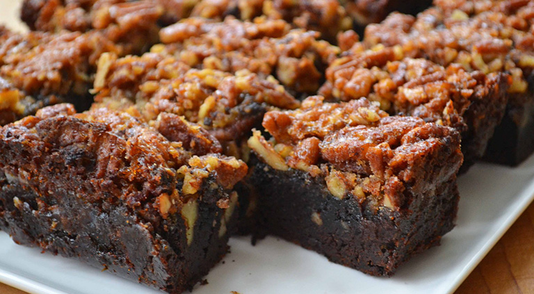 Pecan Brownies Southern Pecan products